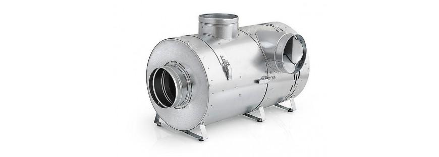 Zapewniają przygotowanie i nawiew gorącego powietrza z kominka do pomieszczeń